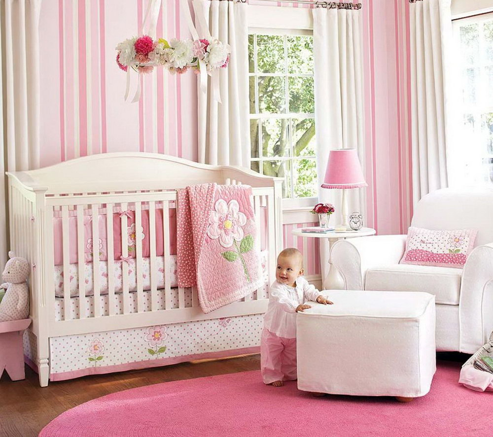 bedroom furniture for baby girls photo - 3