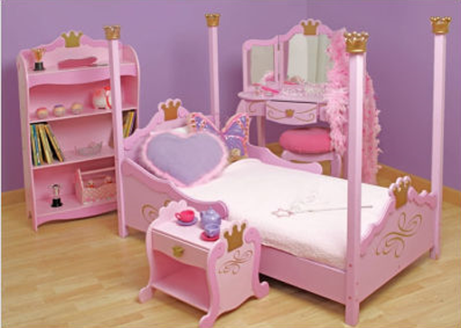 bedroom furniture for baby girls photo - 4