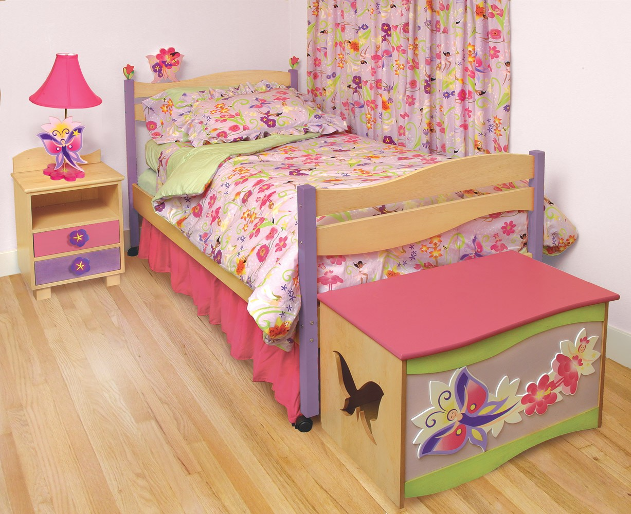bedroom furniture for baby girls photo - 5