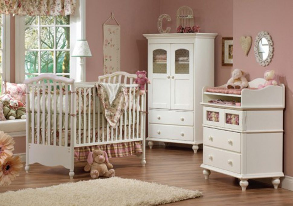 bedroom furniture for baby girls photo - 6