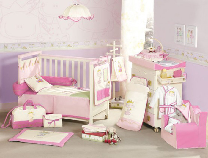 bedroom furniture for baby girls photo - 8