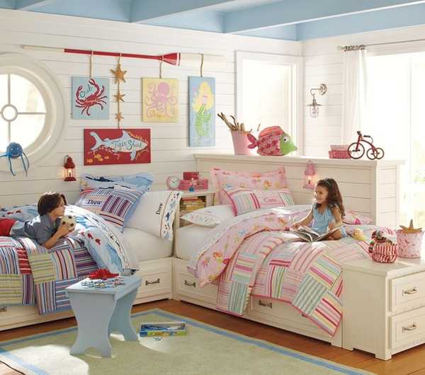 bedroom furniture for two kids photo - 2