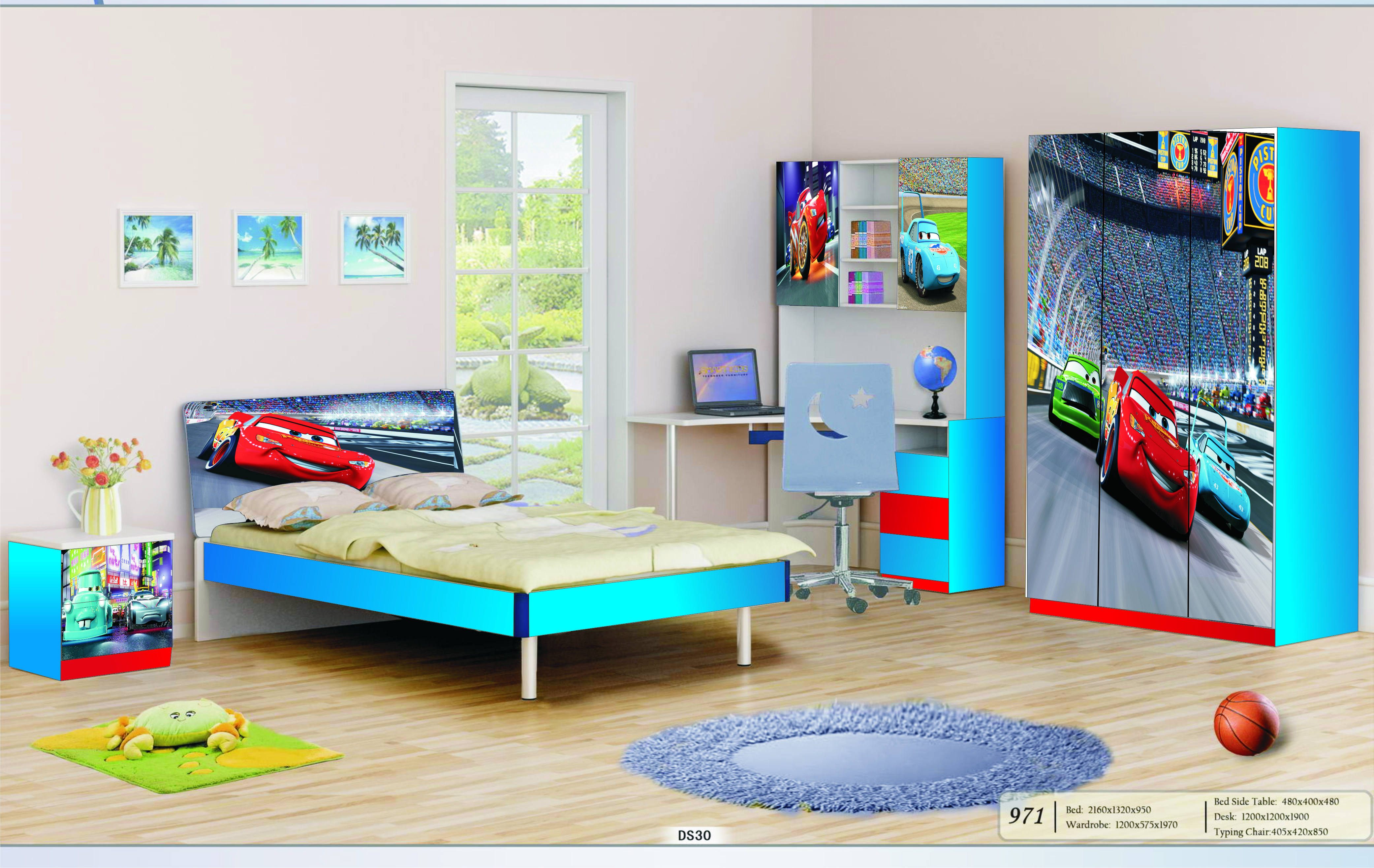 Bedroom Furniture For Two Kids Photo   4