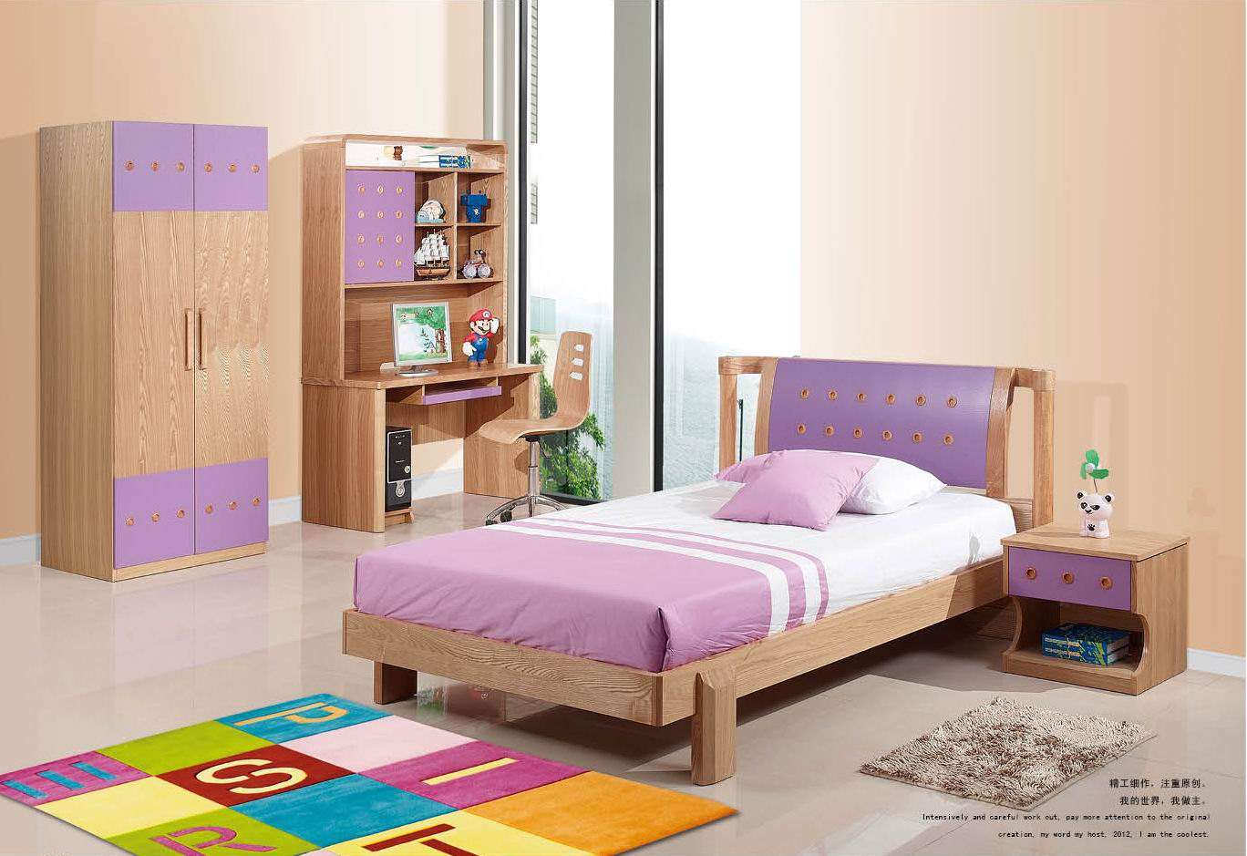 bedroom furniture for two kids photo - 8