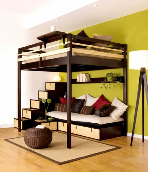 bedroom furniture ideas for small spaces photo - 1
