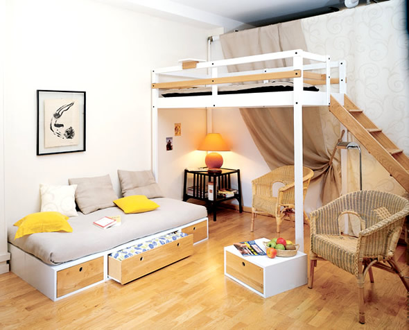 bedroom furniture ideas for small spaces photo - 4