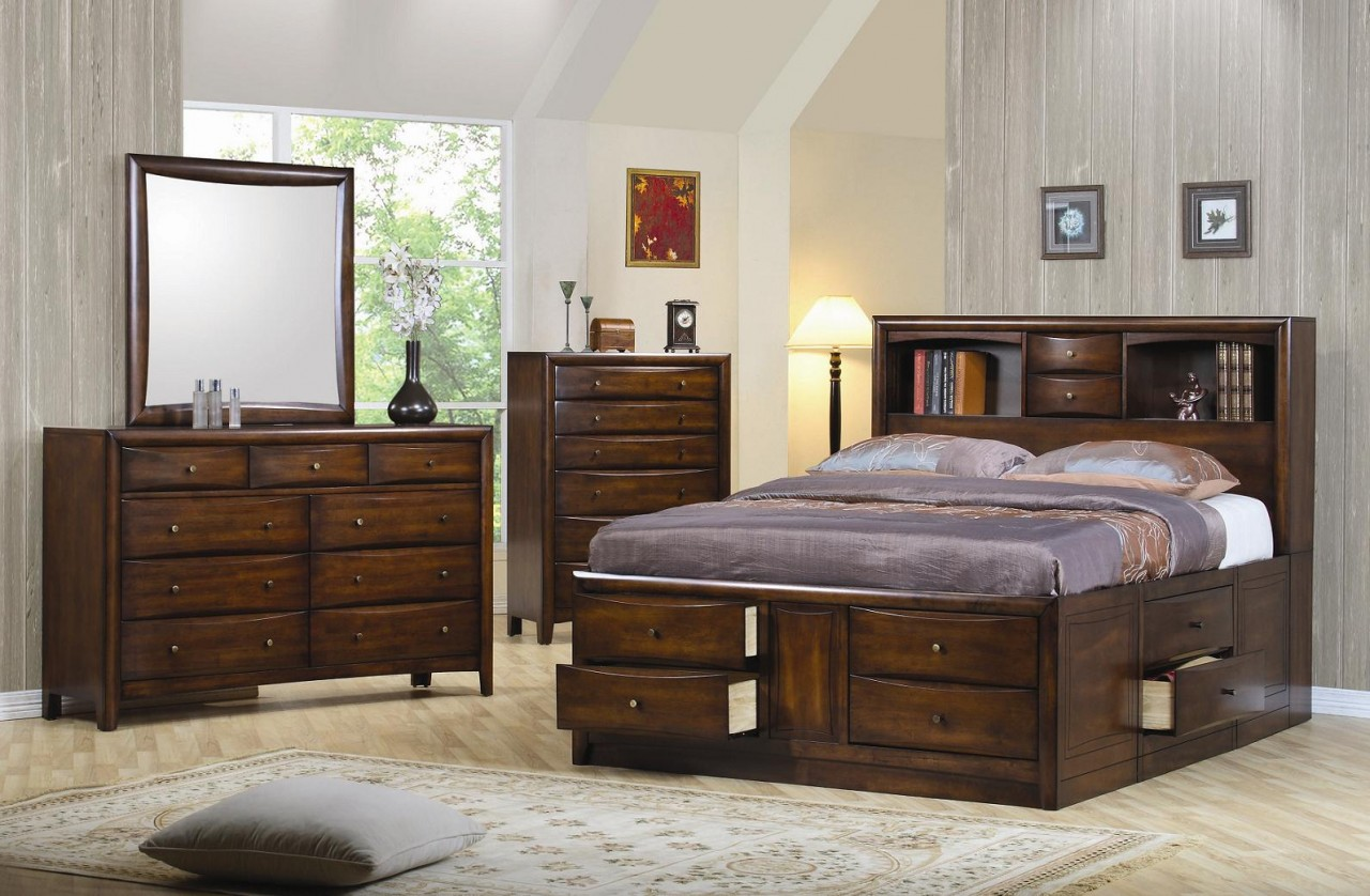 bedroom furniture sets king size bed photo - 3