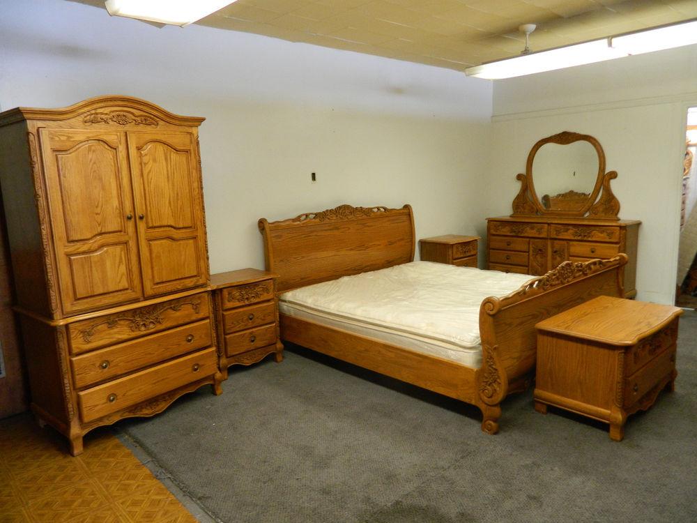 bedroom furniture sets oak photo - 1