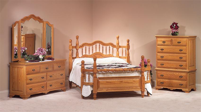 bedroom furniture sets oak photo - 2