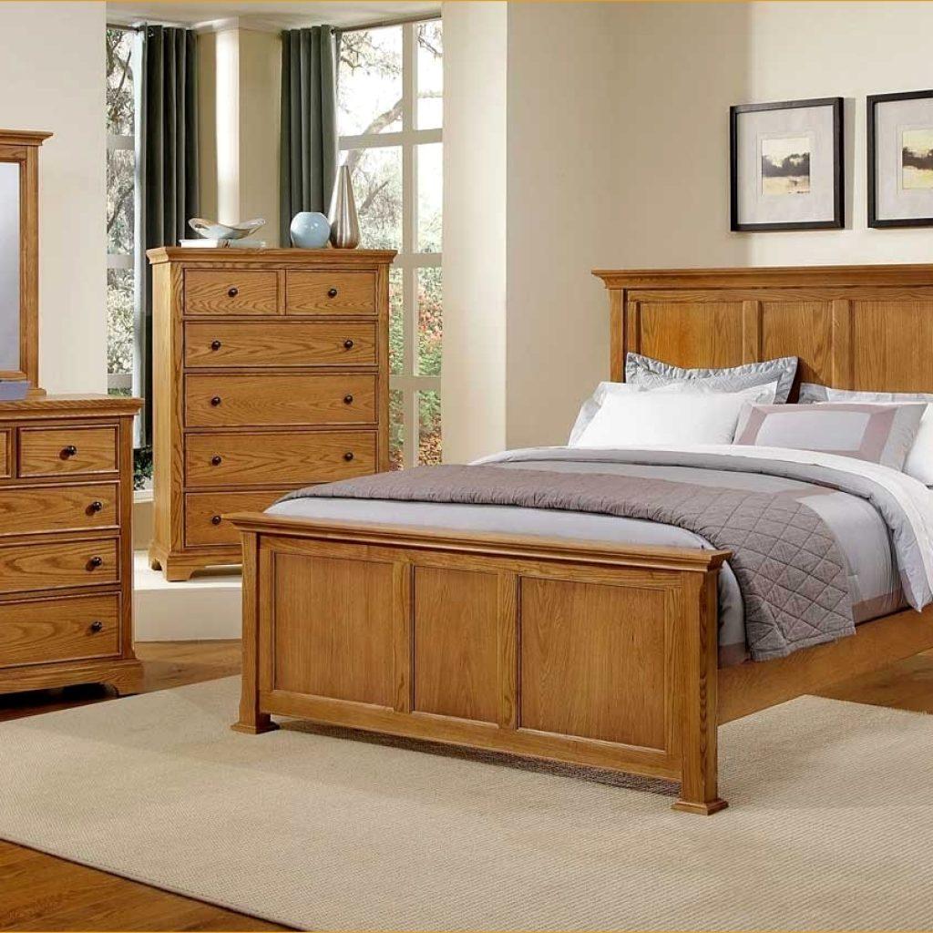 bedroom furniture sets oak photo - 3