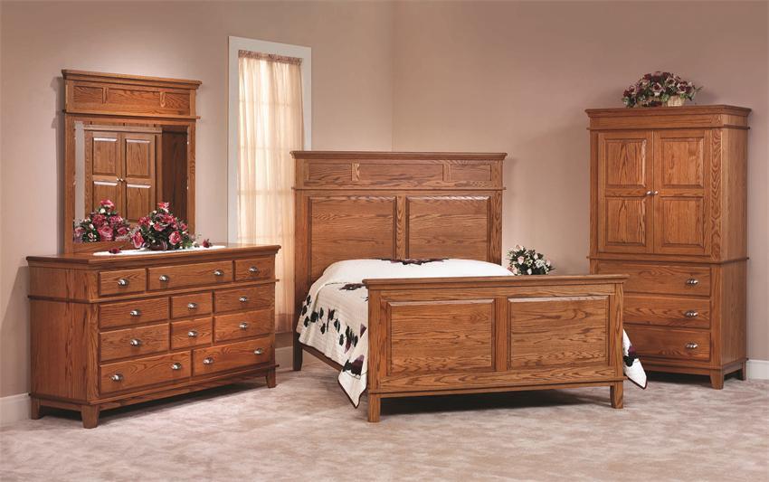 bedroom furniture sets oak photo - 4