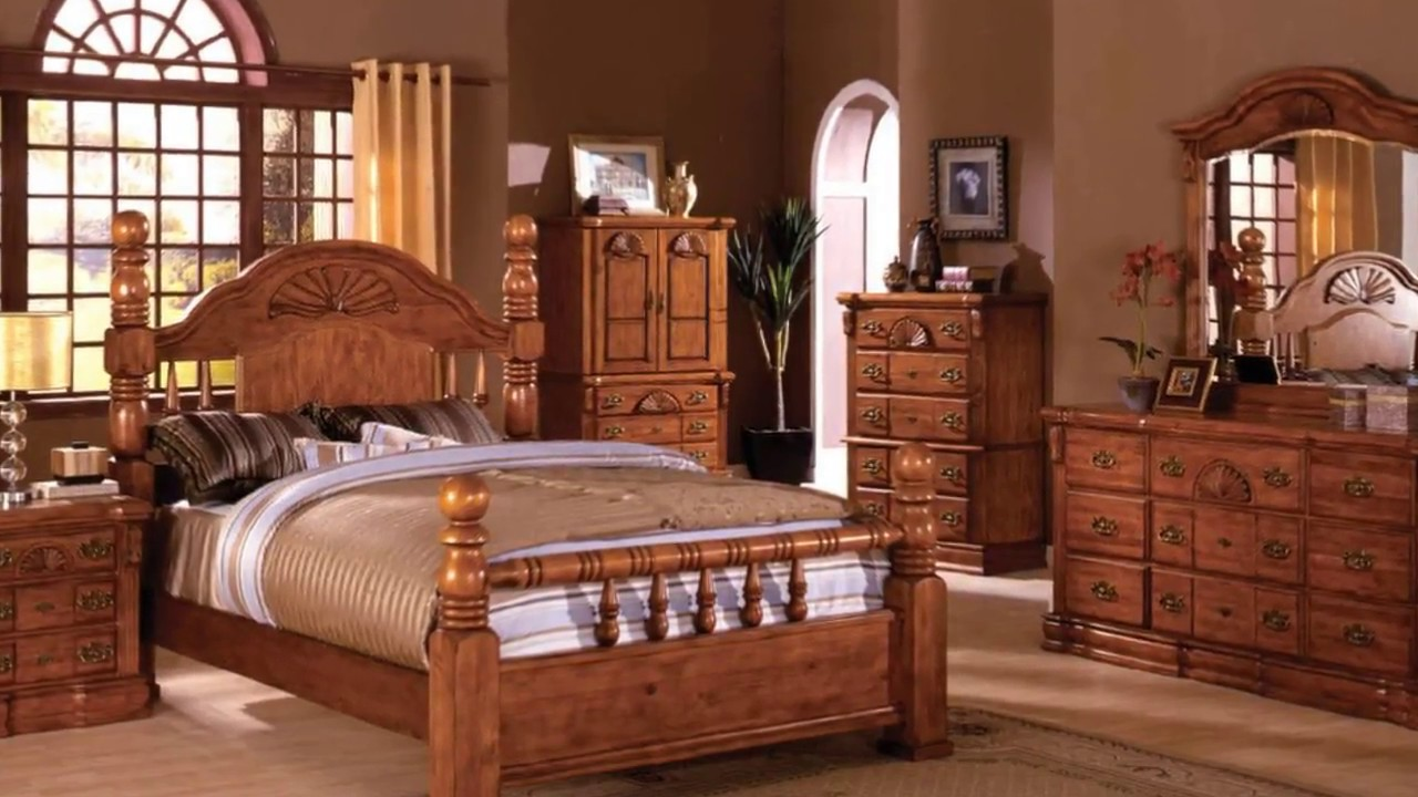 bedroom furniture sets oak photo - 9