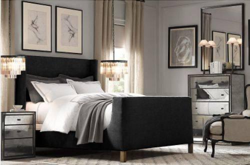 bedroom furniture sets restoration hardware photo - 10