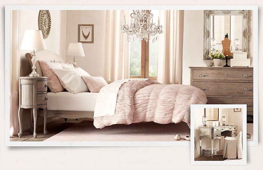 bedroom furniture sets restoration hardware photo - 3