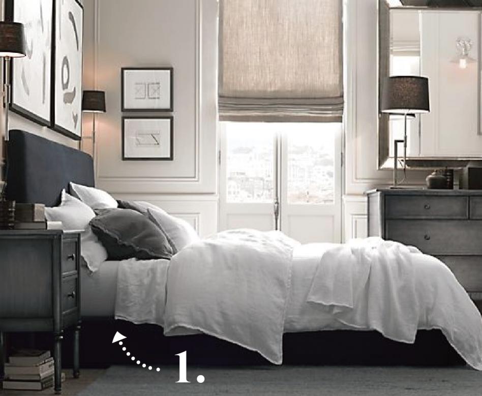 bedroom furniture sets restoration hardware photo - 5