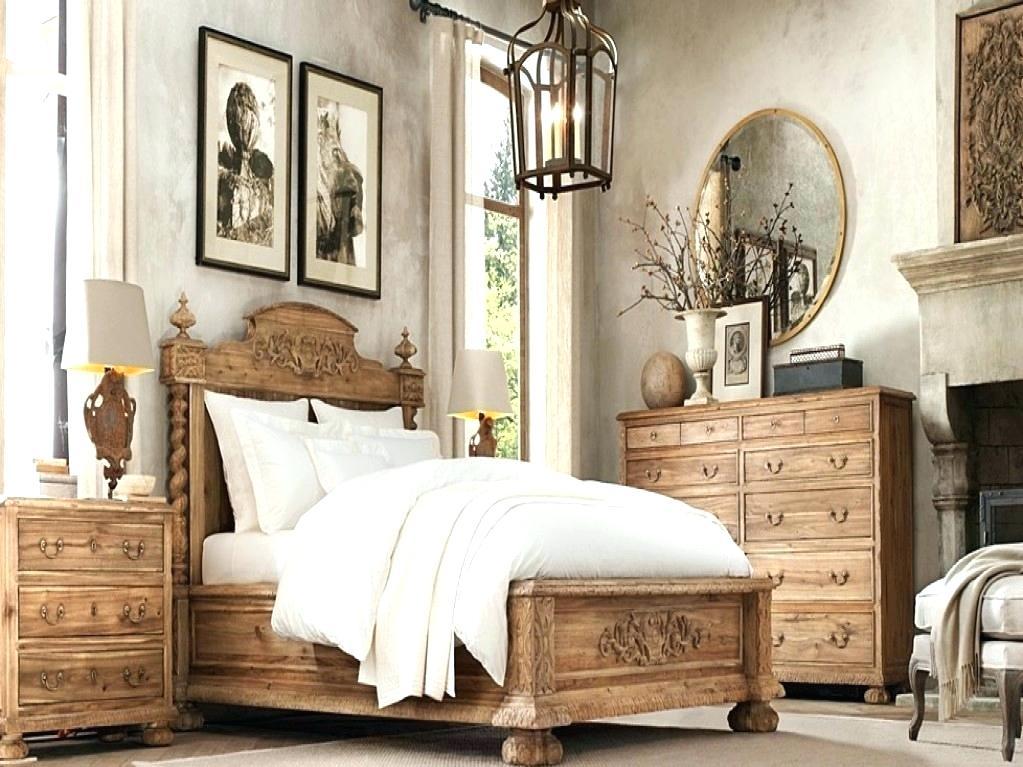 bedroom furniture sets restoration hardware photo - 9