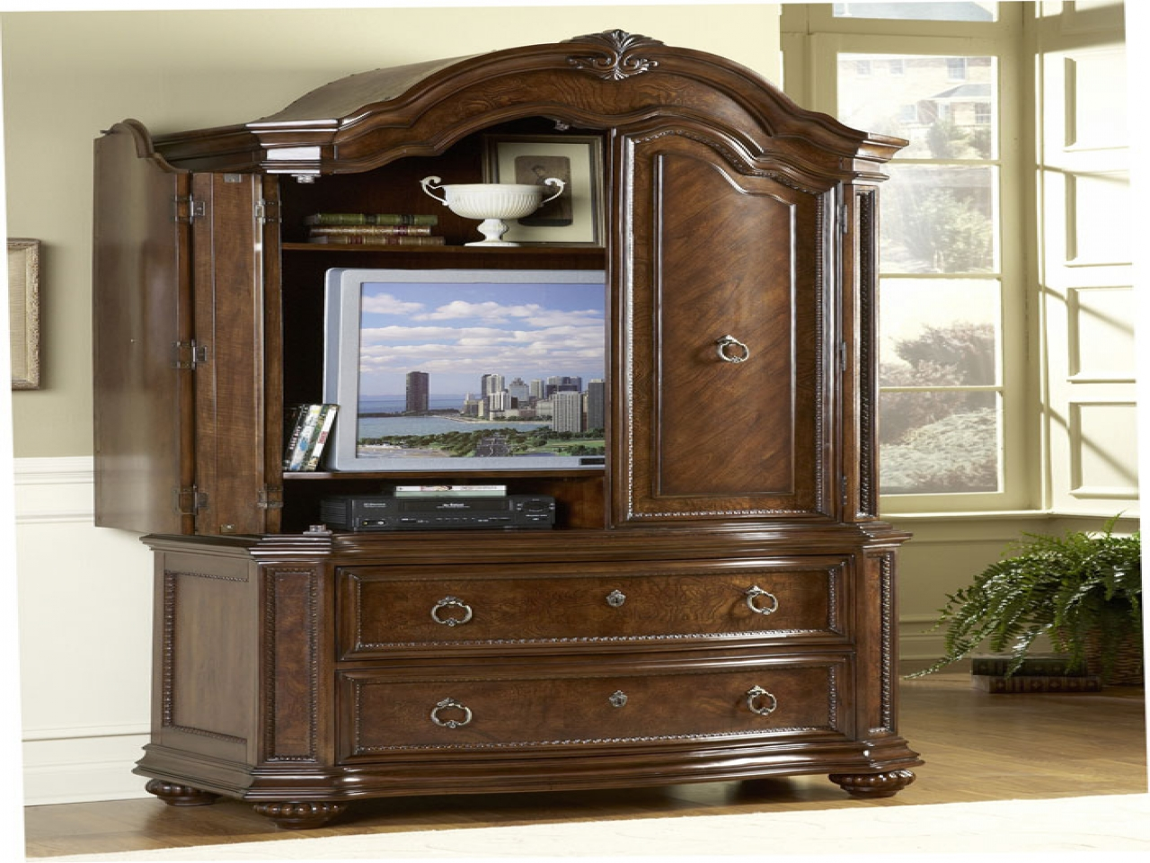 bedroom furniture sets with armoire photo - 1