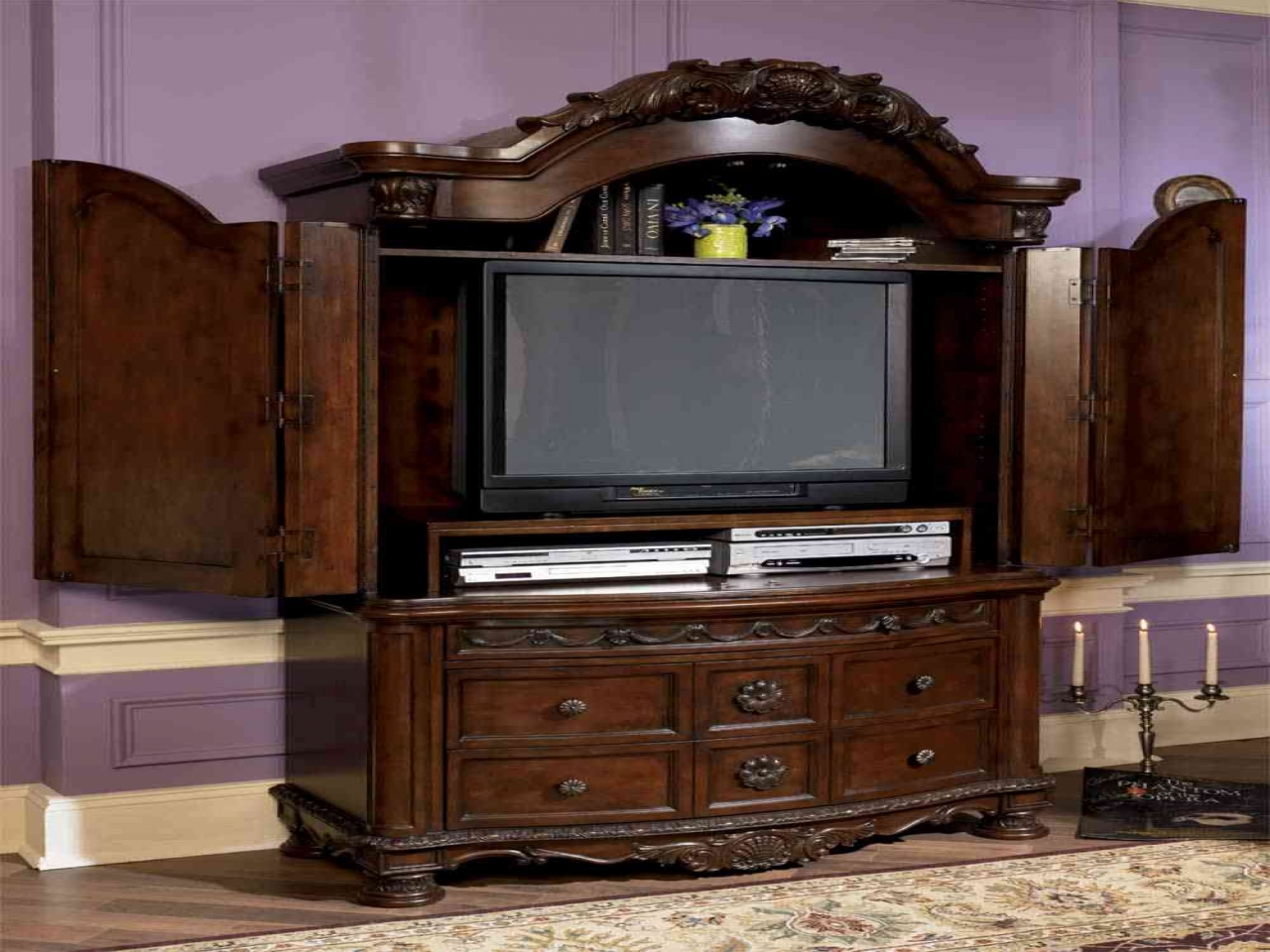 bedroom furniture sets with armoire photo - 10