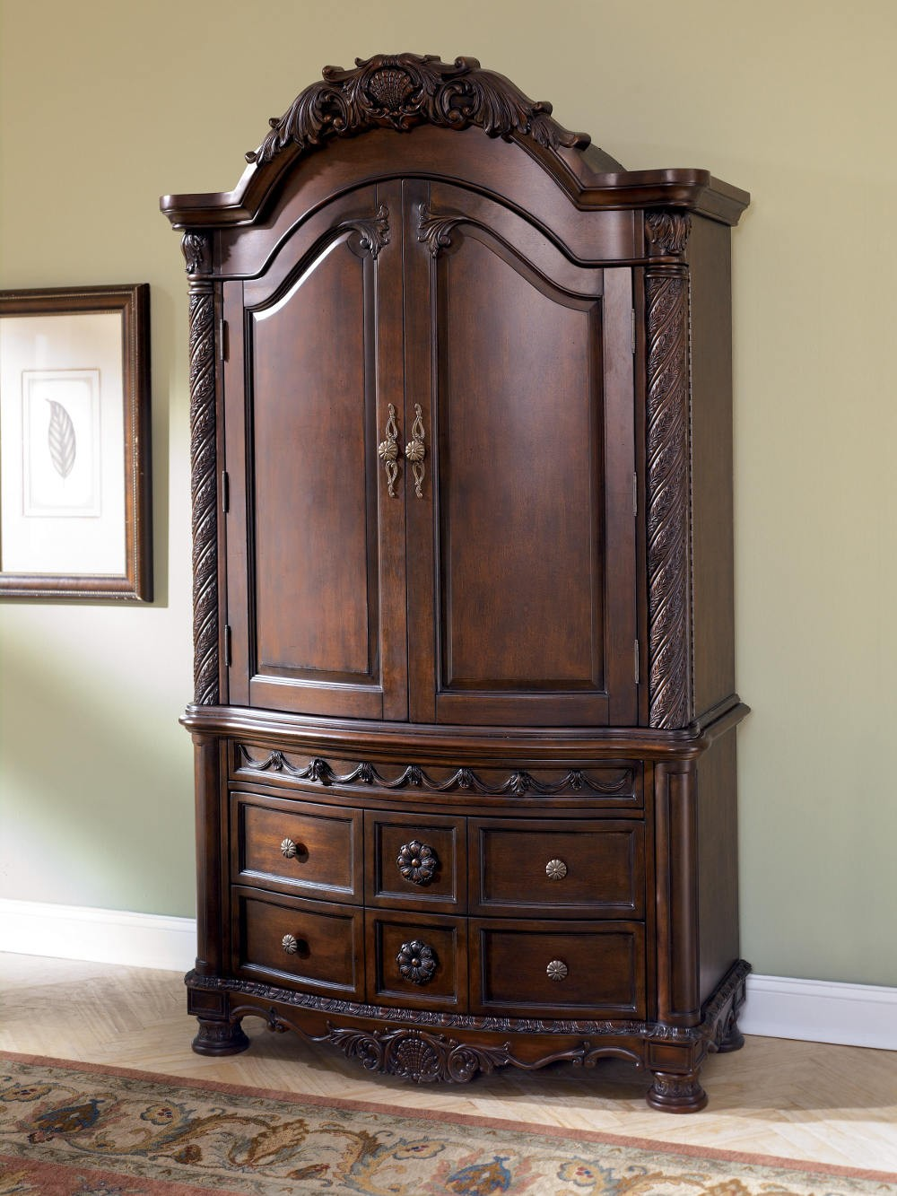 Exceptional Bedroom Furniture Sets With Armoire Photo   4
