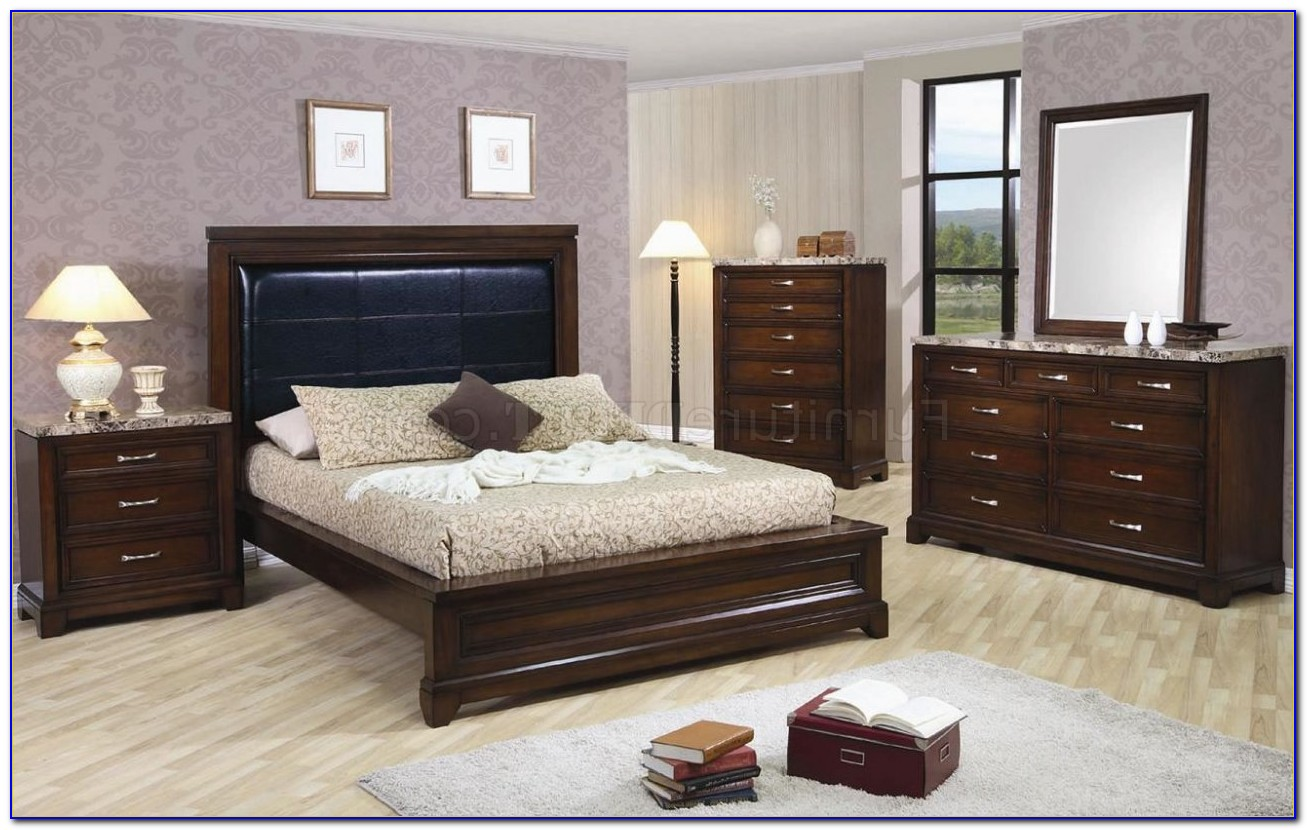 bedroom furniture sets with marble tops photo - 7