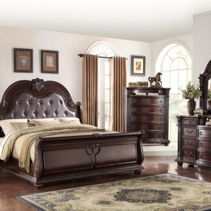 bedroom furniture sets with marble tops photo - 8