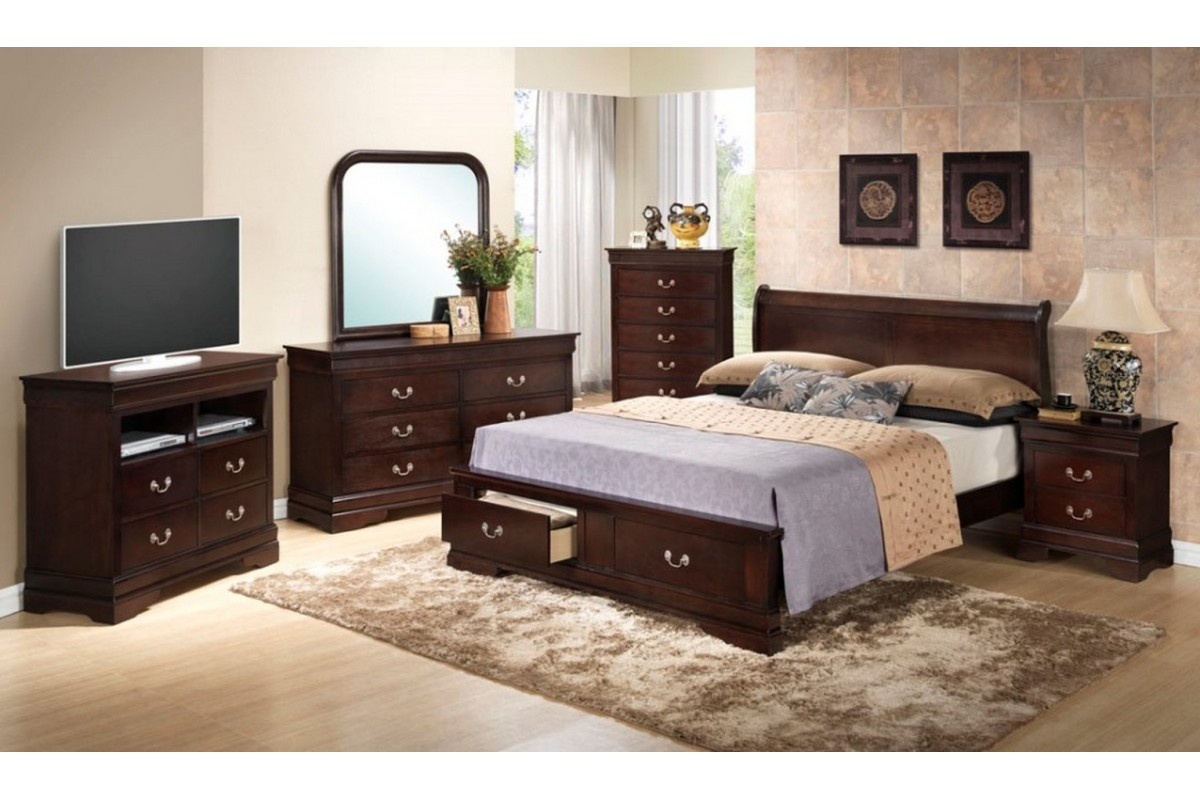 bedroom furniture sets with storage photo - 3
