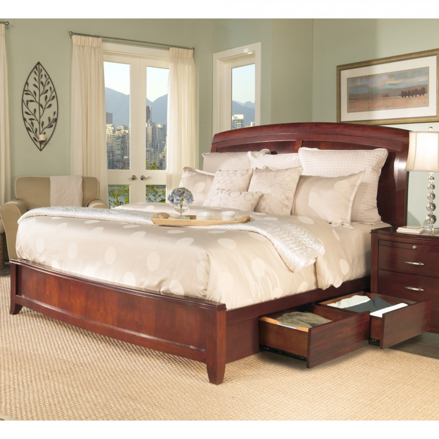 bedroom furniture sets with storage photo - 4