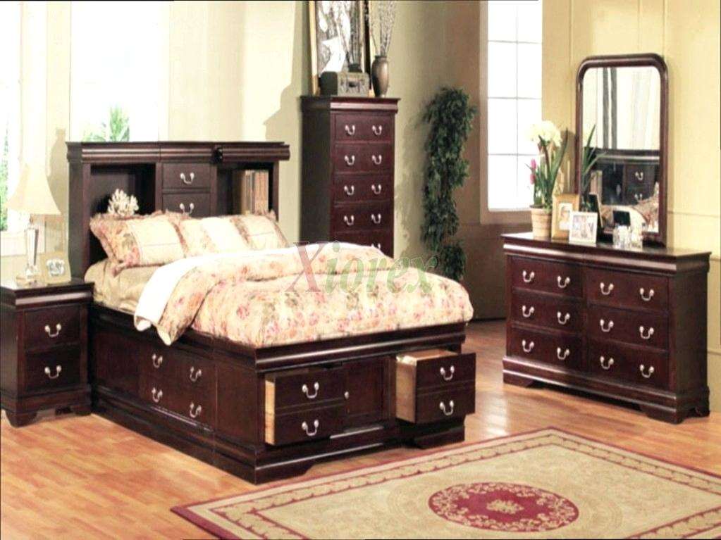 bedroom furniture sets with storage photo - 5