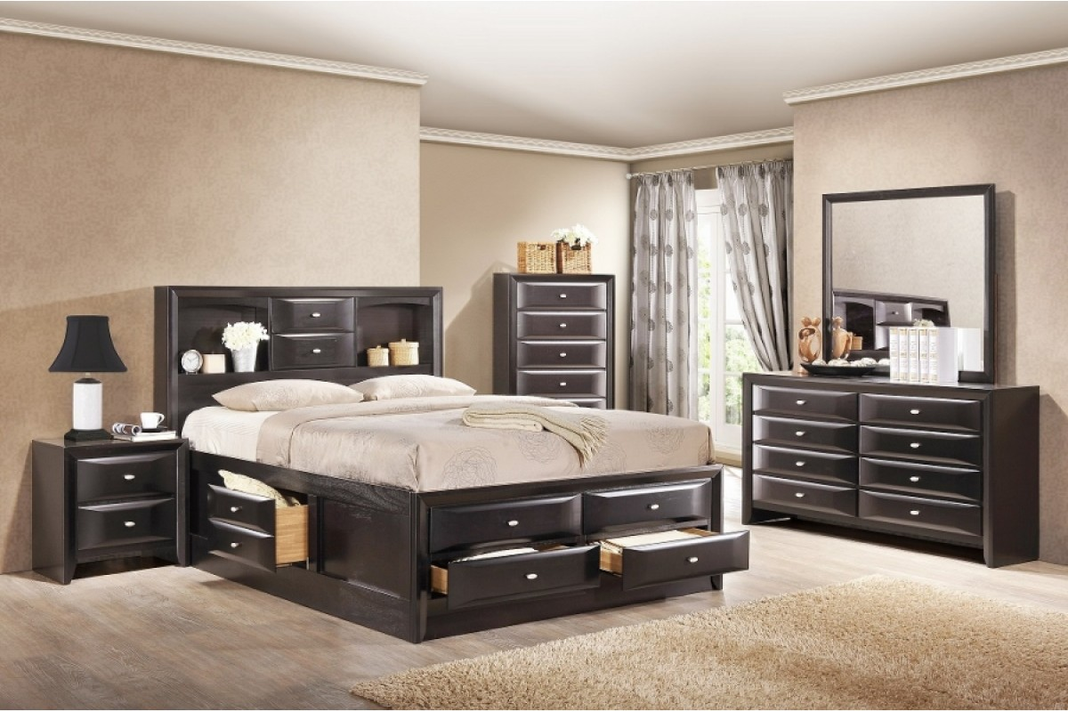 bedroom furniture sets with storage photo - 7