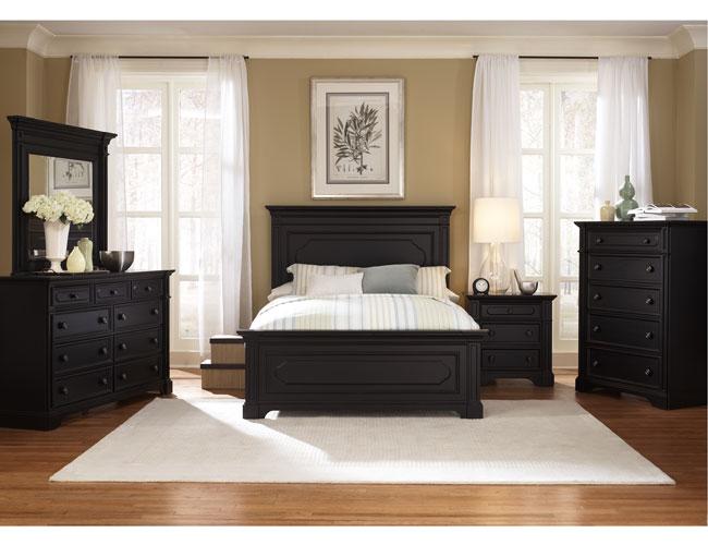 bedroom ideas black furniture photo - 1