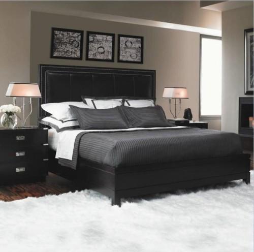 bedroom ideas black furniture photo - 5
