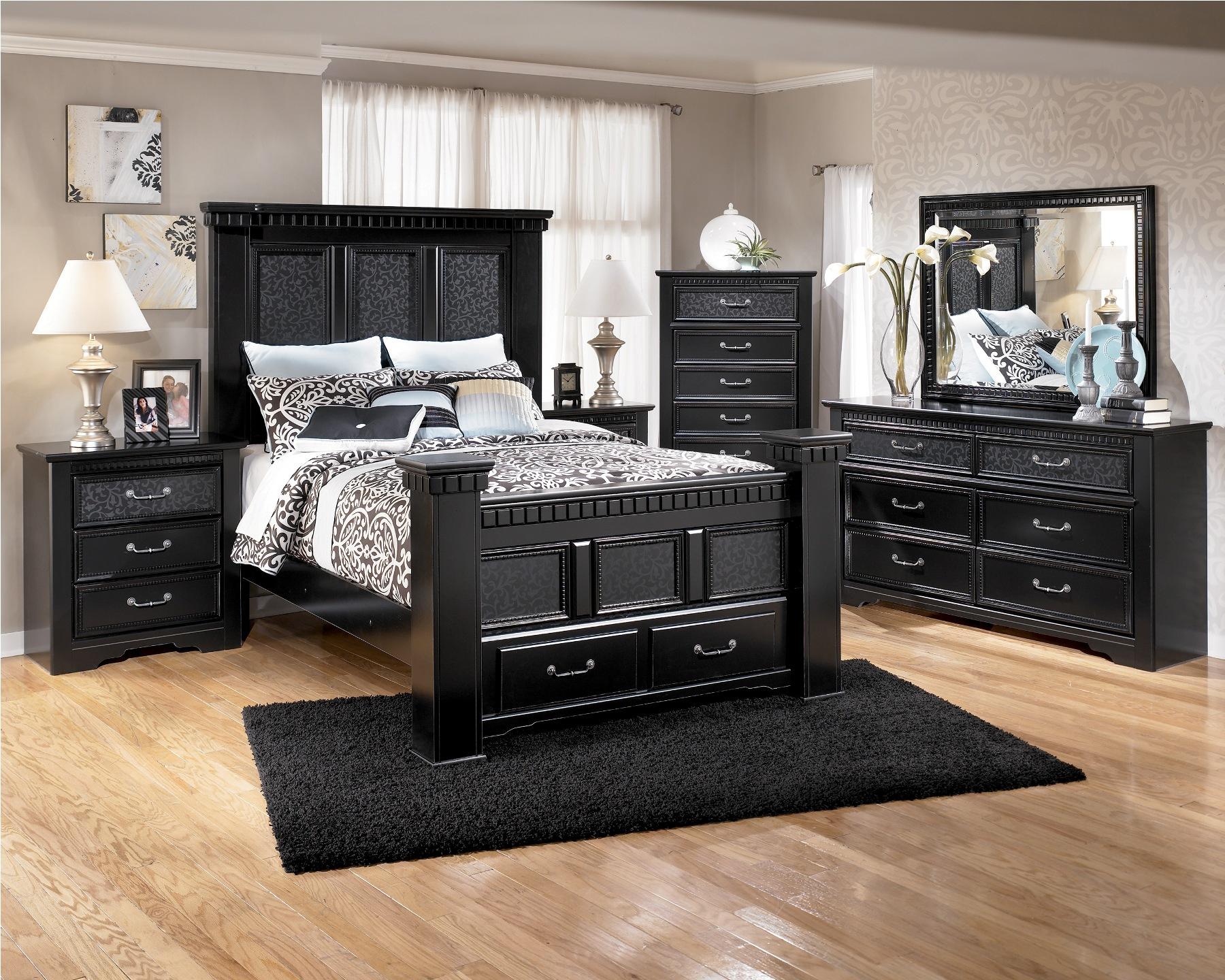 bedroom ideas black furniture photo - 6