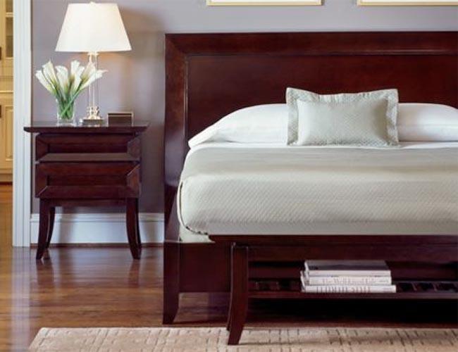 bedroom ideas cherry furniture photo - 10