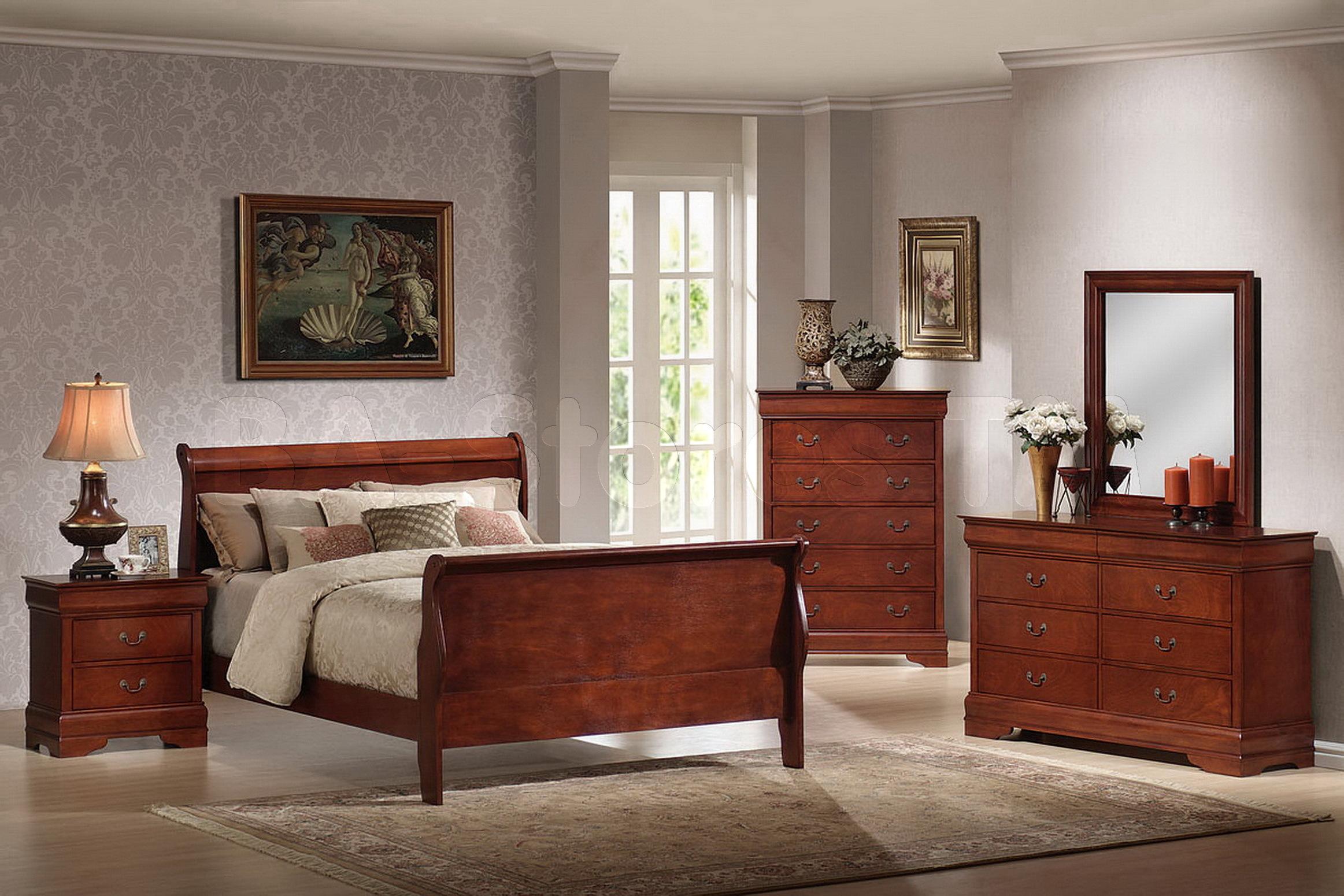 bedroom ideas cherry furniture photo - 3
