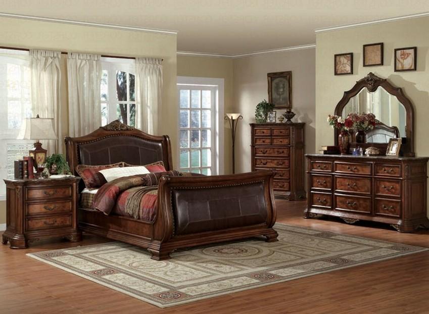bedroom ideas cherry furniture photo - 9