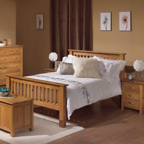 bedroom ideas oak furniture photo - 1