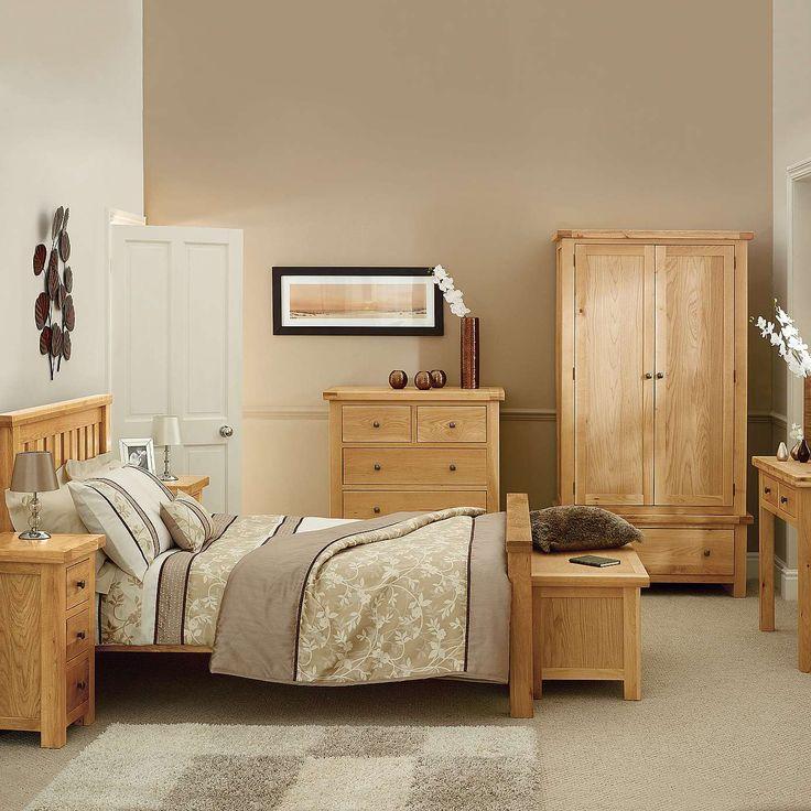 bedroom ideas oak furniture photo - 5