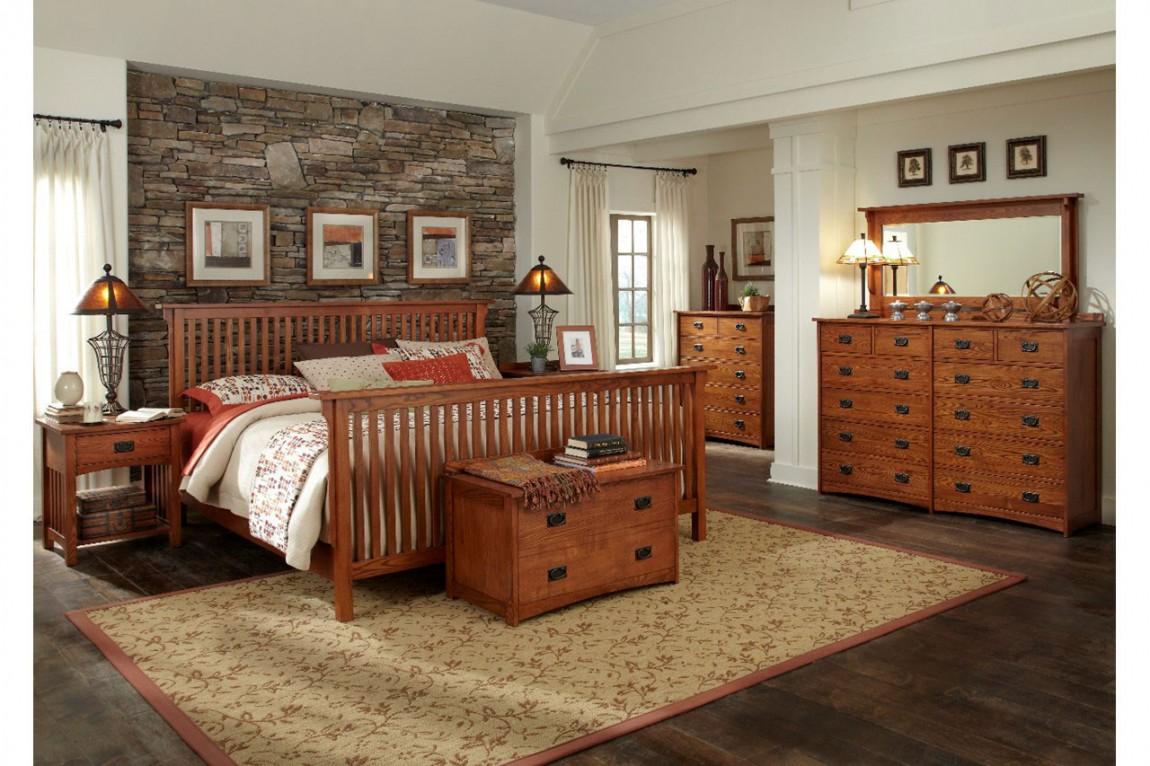 bedroom ideas oak furniture photo - 7