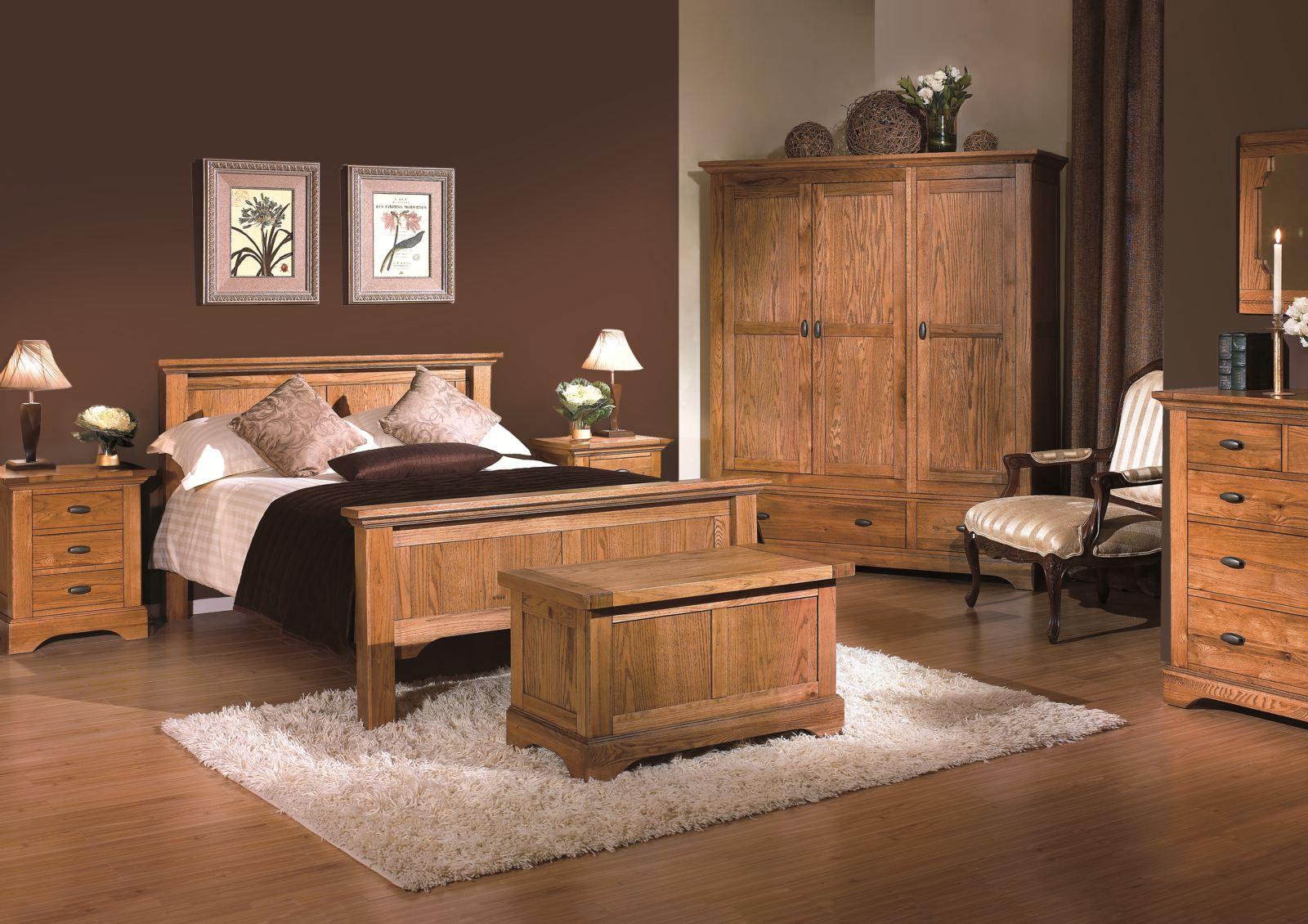 bedroom ideas oak furniture photo - 9