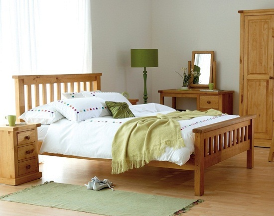bedroom ideas with pine furniture photo - 3