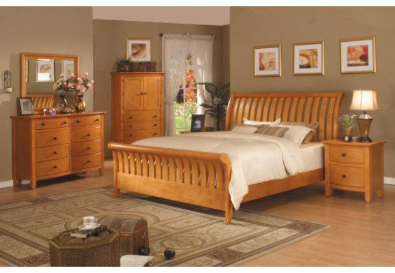 bedroom ideas with pine furniture photo - 8