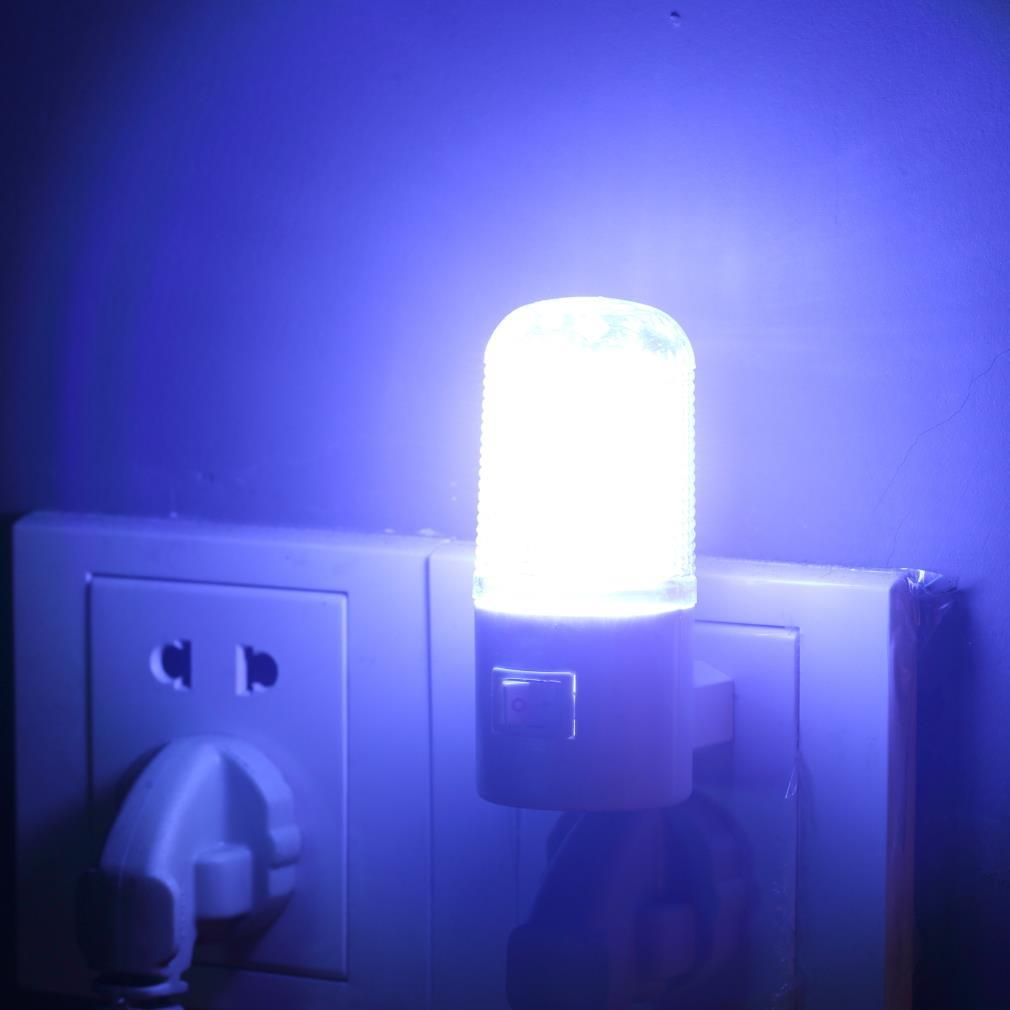 bedroom lamp with nightlight photo - 10