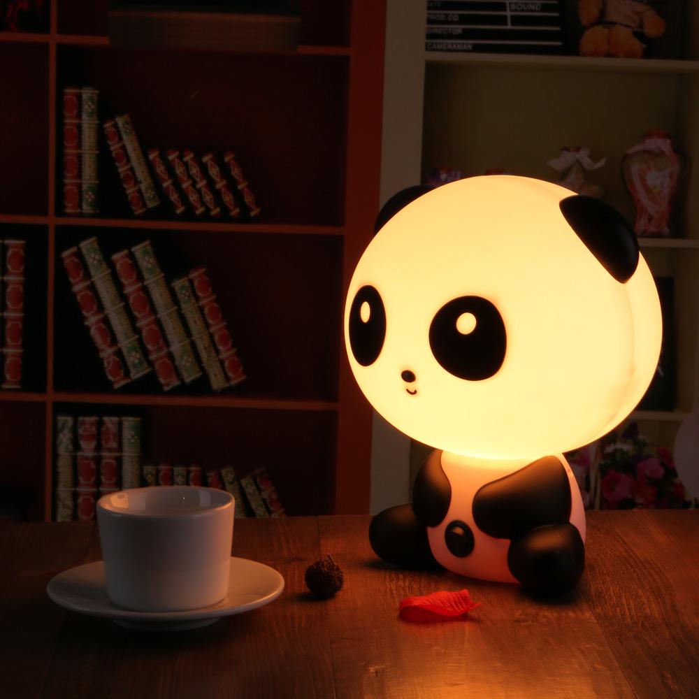 bedroom lamp with nightlight photo - 3