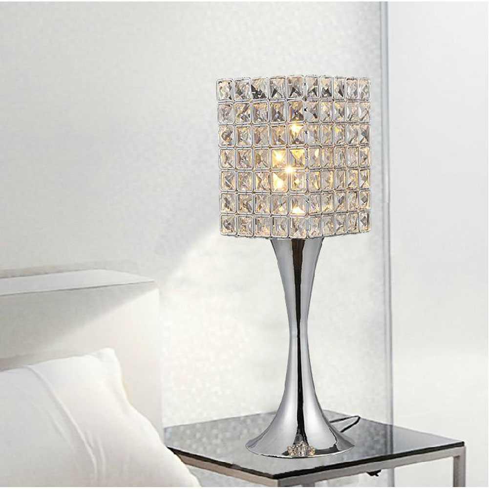 bedroom lamp with nightlight photo - 5