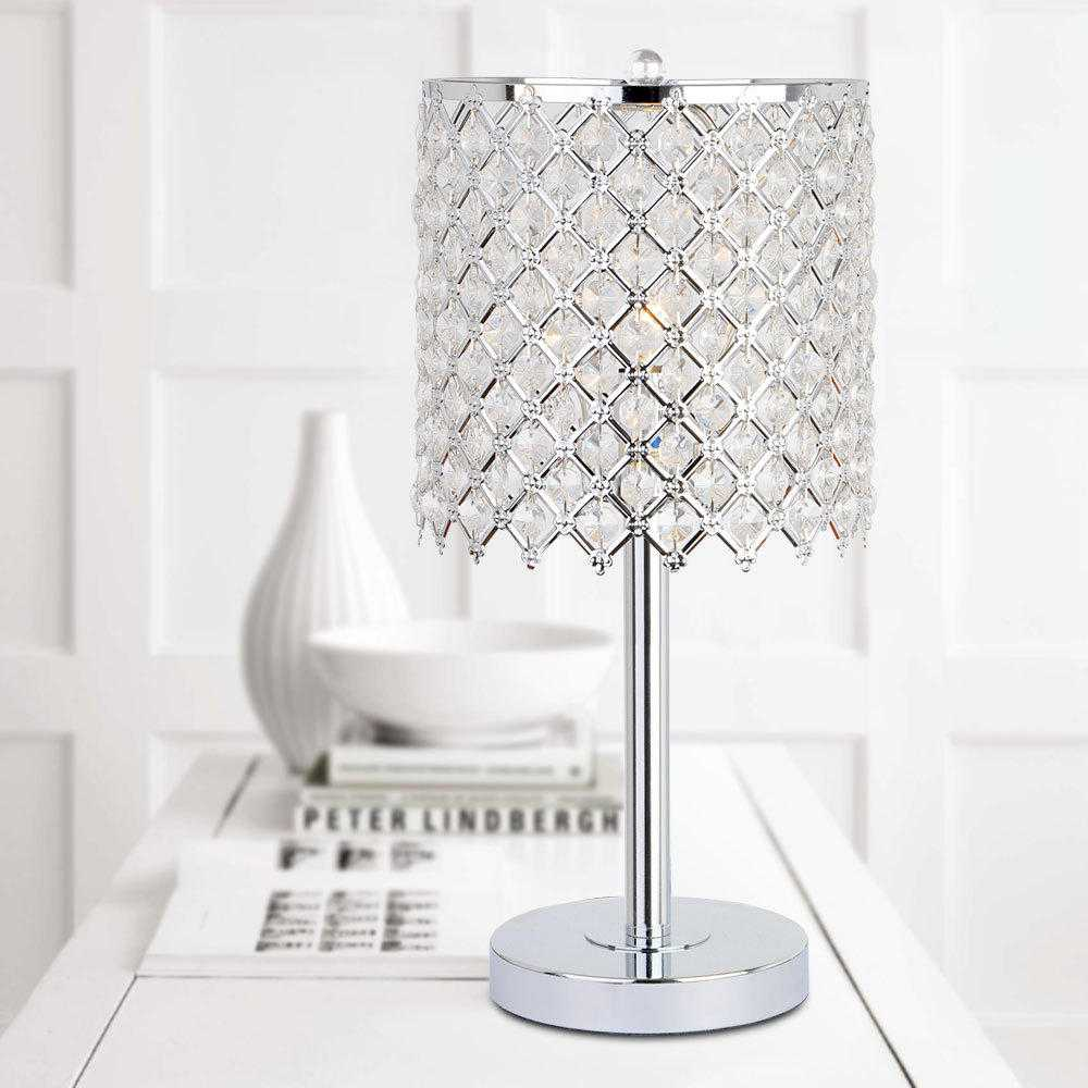 bedroom lamp with nightlight photo - 8