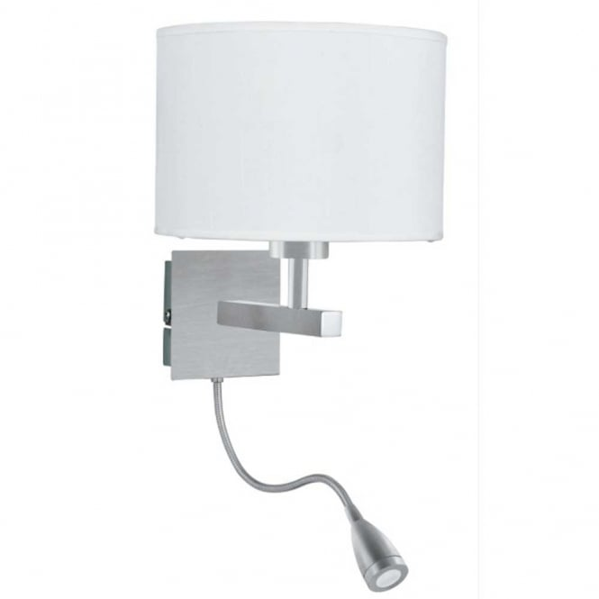 bedroom lamp with reading light photo - 3