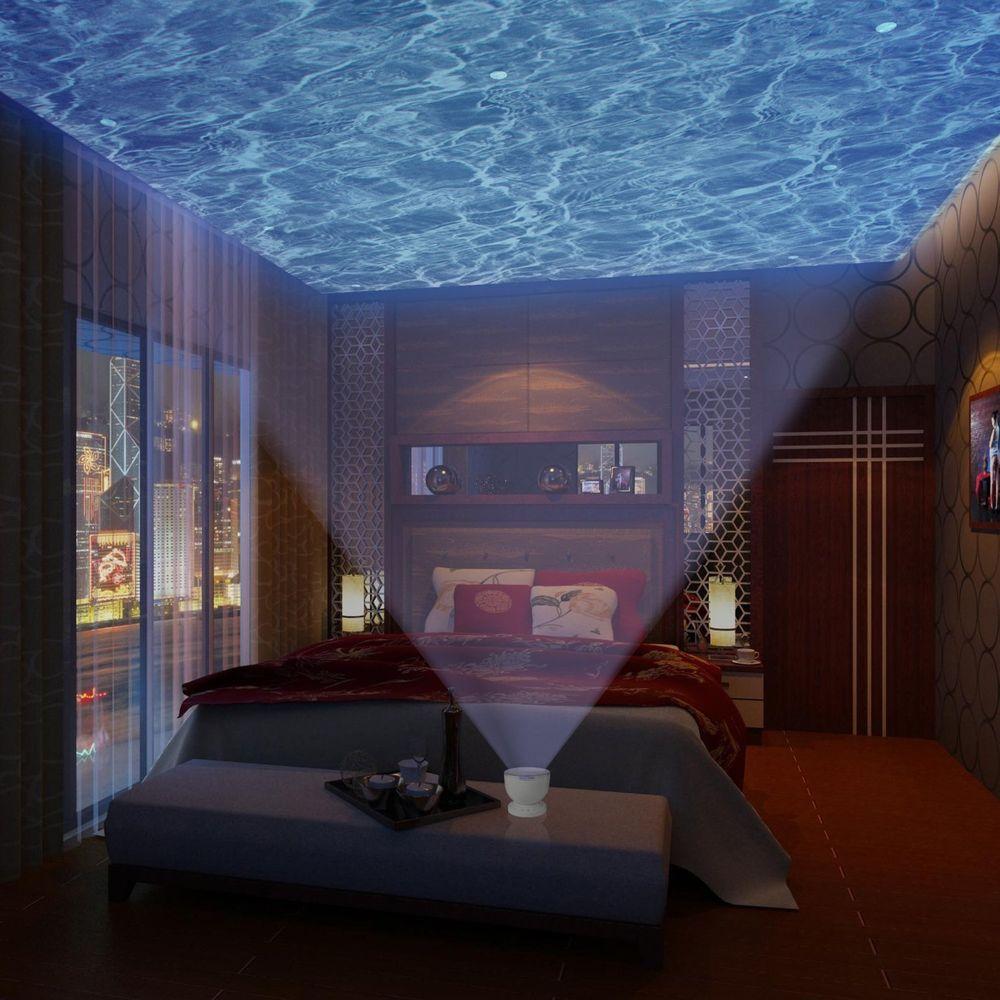 bedroom projector light lamp photo - 2