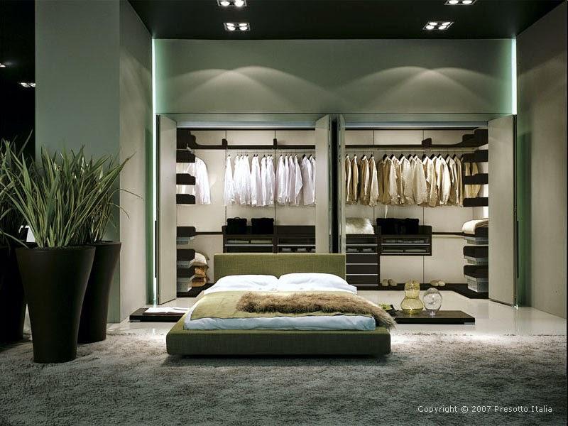 bedroom walk in closet design photo - 4
