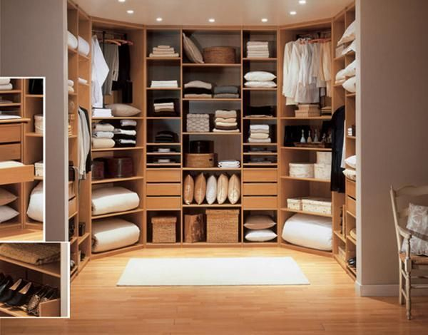 bedroom walk in closet design photo - 9