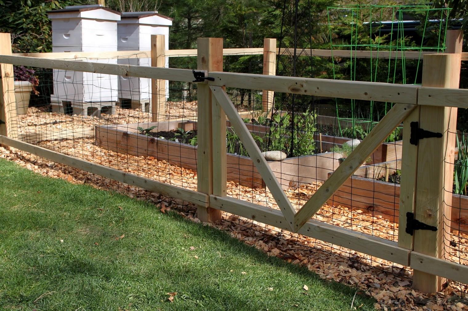best garden fencing ideas photo - 9